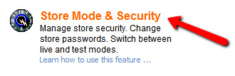 CoreXpand Store Mode Security